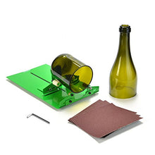 Glass Bottle Cutter, AGPtek Long Bottle Cutter DIY Cutting Machine Wine Bottles and Beer Bottles Cutting Tool Bonus a Bottle Cutter Art Ebook (Upgrade Version)