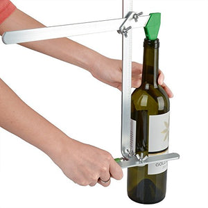 AGPtek Glass Bottle Cutter Stained Glass Recycles Wine Bottles Jar cutting Tool