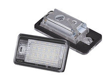 AGPTEK 2-Pack LED License Plate Lamps for Audi A3 A4 A6 A8 S6 Q7 RS4 RS6 Plus etc, Daylight White