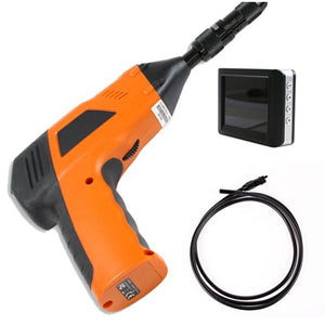 "Wireless Inspection Camera with 6 ft Flexible Tube and 3.5"" LCD Monitor"
