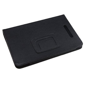 Tablet Case Cover, AGPtEK Slim Folio Stand Leather Protector for Barnes & Noble Nook Tablet/ Nook Color, Black