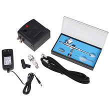 AGPtek Mini Airbrush Airbrushing System Air Compressor High Performance Professional Multi-purpose Gravity Feed Dual-action Airbrush Kit