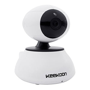 Keekoon 5x Zoom Digital Plug & Play 720P 1.0 Mega Pixels Wireless Indoor CCTV IR Security WIFI IP Network Camera Nightvision IR-Cut