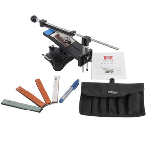 Knife Sharpener, AGPtEK Second Professional Kitchen Knives Sharpen Tool System Fix-angle With 4 Stones(#120, #320, #600, #1500)