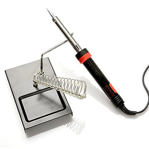 AGPtek 8 in 1 60W 110V Pencil Handle Electric Soldering Iron Kit with 5 Iron Tips and Solder Sucker