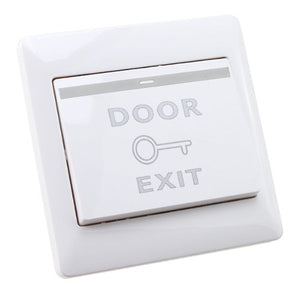 AGPtek Electric Door Strike Push Release Button Exit Switch Panel for Access Control System