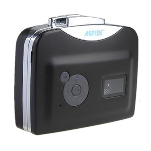 AGPtek 2013 Newest Model Portable USB Cassette-to-MP3 Converter Capture directly to USB Flash Disc without PC