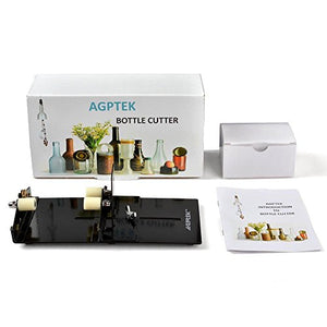 New Bottle Cutter Kit, AGPtek Glass Bottle Cutter Scoring Machine Cutting Tool for Creating Stained Glass, Bottle Planters, Bottle Lamps, Candle Holders