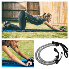 AB Wheel Resistance Loop Band for Roller Resistance Loops with Foot Hooks