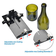 Glass Cutter AGPtEK Glass Bottle Cutter Machine Wine Bear Bottle Jars Cutting Tool - Cutting up to 16cm Glass Bottle
