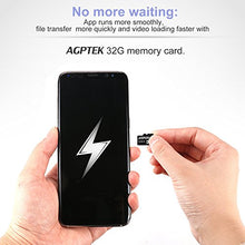 AGPtEK 32GB Class 10 Micro SD Card with Card reader, compatible with AGPTek Mp3 player
