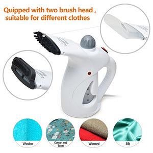 Clothing Steamer, AGPtek Handheld Garment Fabric Steamer Facial Steamer for Clothes and Face, Portable Powerful Steamer with Fast Heat-up Perfect for Home Travel