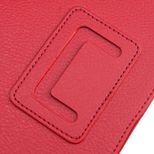 AGPtek Leather Cover Case Stand for Barnes & Noble Nook Tablet Color Red