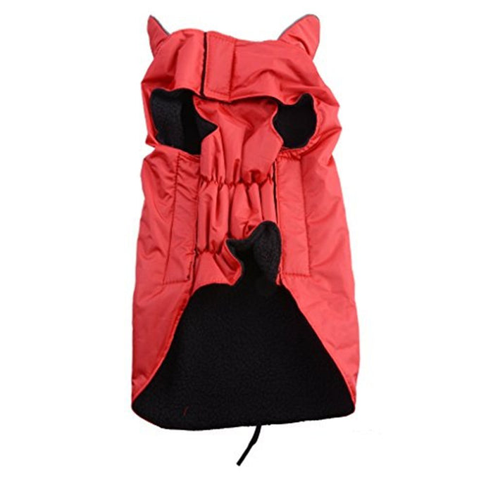 AGPtek Universal Waterproof Fleece Pets Dogs Clothes Soft Cozy Outdoor Winter Padded Vest Coat Jacket For Dogs L/XL/XLL/XLLL