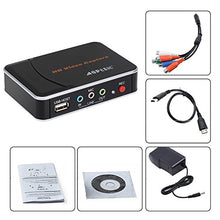 AGPtek HD Game Capture Card HD Video Capture 1080P HDMI/ YPBPR Video Recorder for Xbox 360 Xbox One/ PS3 PS4/ Wii U, Support Mic in with YPBPR Input
