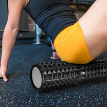 "5-In-1 Large size Foam Roller Kit with Muscle Roller Stick and Massage Balls, High Density 18"" Foam Roller for Muscle Therapy and Balance Exercise"