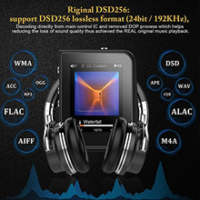 AGPTEK H50 HIFI Lossless MP3 Player, High Resolution Digital Audio Player , Expandable Up to 128GB, 2-inch TFT Display, Gray