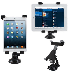 IMAGE Car Vehicle Windshield Suction Cup Holder and Desk Top mount For iPad 2 3 4/iPad Mini/Samsung Galaxy Tab/Google Nexus 7 10 & Other Tablet PC