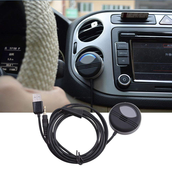 AGPtek Steambot N Bluetooth 4.0 Air Vent Charger / Audio Music Receiver and Hands-Free Calling Car Kit withe Charger. Compatible with Most Smartphones