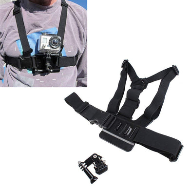 IMAGE Adjustable Elastic Body Chest Strap Mount Belt Perfect for GoPro HD Hero 2 Hero 3