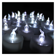 Cool White Led Flameless Flickering Flashing Candle