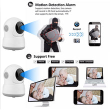 Wireless WIFI Pan Tilt HD Security Network Indoor CCTV IP Camera Night Vision