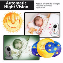 Fitnate® Wireless Video Baby Monitor with Digital Camera, Night Vision Temperature Monitoring & 2 Way Talkback System, Built-in Remote Lullabies, More Strong Signal, Larger Monitor