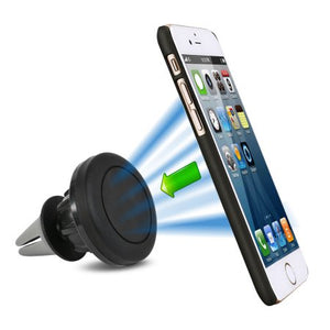 AGPtek Universal 360 Degree Rotating Magnetic Car Mount Air Vent Phone Holder For iPhone Samsung Galaxy