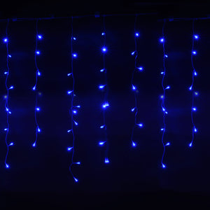 AGPtek 25Mx0.6M Linkable Fairy Curtain Lights Strings Connectable Lights 8 Lighting Modes