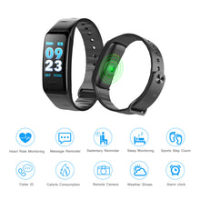 Waterproof Smart Wristband Watch Bracelet Fitness Tracker Health Monitor Heart Rate