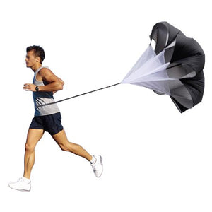 "Agptek 40"" inch Speed Training Resistance Parachute Chute Power Running Chute"