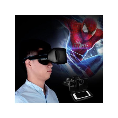 3D Virtual Reality Video Glasses Google Cardboard For Smart Phone iPhone6 iPhone 5S Support Android and IOS