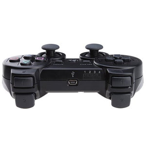 Bluetooth Wireless Black Game Controller for PlayStation 3 PS3 - USB Wired Available