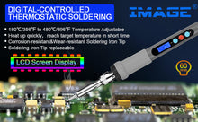 Soldering Iron, IMAGE Digital-Controlled Thermostatic Soldering Iron with LCD Screen Display
