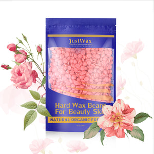Red Hard Wax Beans Hair Removal Painless Wax Warmer Waxing Beans Natural Pearl