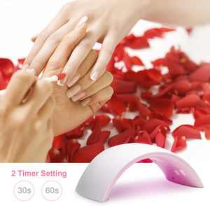 Professional Nail Lamp UV LED Light Nail Curing Acrylic Gel Polish Dryer Machine
