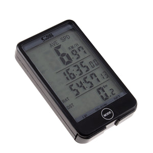 Bicycle Wireless LCD Digital GPS Cycle Computer Backlight Speedometer Odometer