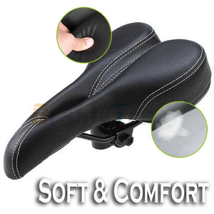Bicycle Pro Road Saddle MTB Sport Hollow Seat Black soft Comfort