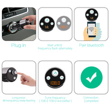Wireless Bluetooth Car Kit FM Transmitter Radio MP3 Player USB Charger Adapter