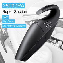 120W Portable Handheld Vacuum Corded Cleaner Wet Dry Rechargeable Car Home Sofa
