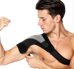 Adjustable Right Shoulder Brace Support Strap Wrap Belt Pain Injury Relief New