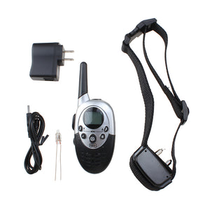 AGPtek Rainproof Rechargeable Dog Shock Training Collar with Remote Adjustable Collar Length 1000 Yard