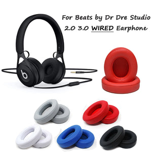 For Beats by Dr Dre Studio 2.0 3.0 Wired Earphone Replacement Ear Pads Cushion