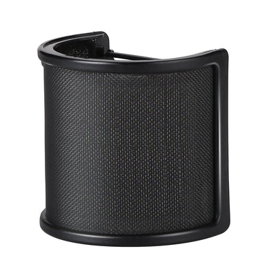 Studio Microphone Pop 3 Filter Layers Windscreen Shield Cover Mesh