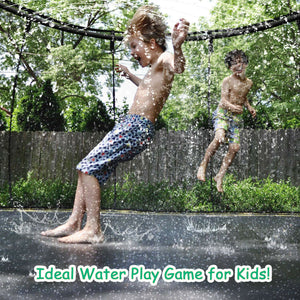 Water Sprinkler Pipe For Outdoor Water Park Trampoline Kids Toy 39 Ft Spray Hose