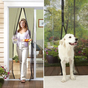 Magnetic Mosquito Screen Door