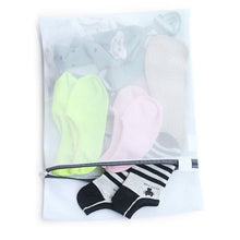 6x Zipped Wash Bag Net Laundry Washing Mesh Lingerie Underwear Bra Clothes Socks