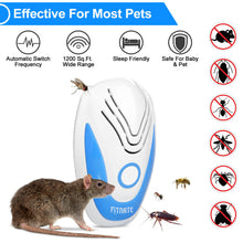 1 Piece Ultrasonic Pest Repeller Noiseless Mouse Mosquito Bug Repellent Rat Reject