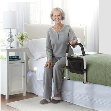 Safety Guard Bed Assist Rails Elderly Adult Adjustable Support Handle Handicap
