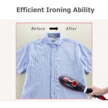 Portable Hand-Held Steam Iron 30s Fast Heating Ironing for Home Travel Garment